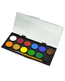 12-Colors Adeland Watercolor 30mm