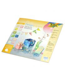 Folia Design Paper Party, 30.50x30.50cm Size, 190gsm