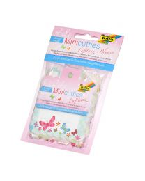 Folia Design Paper Mini Cutties Set (Butterflies, Flowers)
