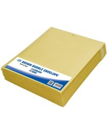 Brown Bubble Envelopes, Peel and Seal, Pack 12 Pieces, 220X265mm Size