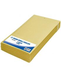 Brown Bubble Envelopes, Peel and Seal, Pack 12 Pieces, 220X340mm Size