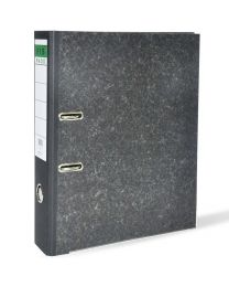 Lever Arch Files Grey Marble with Slide-In Plate Mechanism, Size of Spine is 8cm, F/S (210x 330mm)