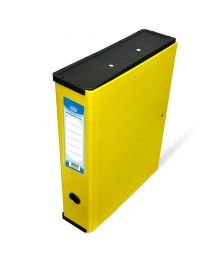 Colored PP Rigid Box File with Plastic Sides, 210 x 330mm