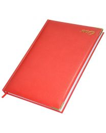 2019 Diary (English) 42E, A4 Size, Red Color