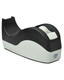 Tape Dispenser Black/White Color, Holds up to 19mm width, 25mm core tape