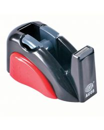 2 Colors Tape Dispenser Black/Red Color, Holds up to 19mm width, 25mm core tape