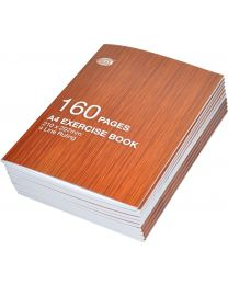 Exercise Books 4 Line Ruling, (Pack of 10 Pcs x 160 Pages) A4 Size