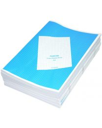 Exercise Books 5mm Square, (Pack of 12 Pcs x 140 Pages) A4 Size
