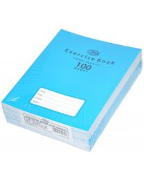 Exercise Books 5mm Square with Left Margin, (Pack of 12 Pcs x 100 Pages) 16.5 x 21 cm Size