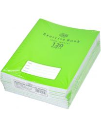 Exercise Books 5mm Square with Left Margin, (Pack of 12 Pcs x 120 Pages) 16.5 x 21 cm Size