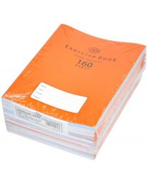 Exercise Books 5mm Square with Left Margin, (Pack of 12 Pcs x 160 Pages) 16.5 x 21 cm Size
