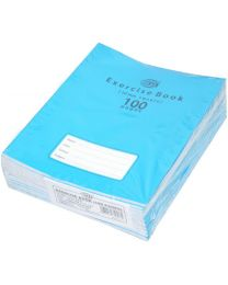 Exercise Books 10mm Square with Left Margin, (Pack of 12 Pcs x 100 Pages) 16.5 x 21 cm Size