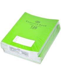 Exercise Books 10mm Square with Left Margin, (Pack of 12 Pcs x 120 Pages) 16.5 x 21 cm Size