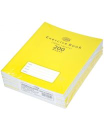 Exercise Books 10mm Square with Left Margin, (Pack of 6 Pcs x 200 Pages) 16.5 x 21 cm Size