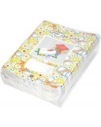 Oman Exercise Book with PVC Cover, (Pack of 12 Pcs x 120 Pages) 18 x 25 cm Size