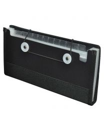 Expanding Wallets With Elastic Cord Closure 13 Pockets, 270 x 130mm Size
