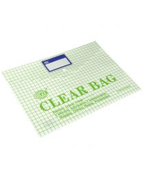 My Clear Bags With With Name Card Pocket & Design Printing, F/S Size
