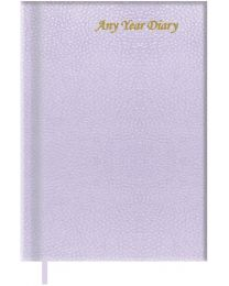 A5 Undated Any Year Diary Vinyl Material Cover
