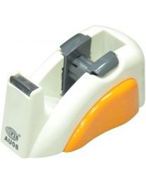 2 Colors Tape Dispenser White/Brown Color, Holds up to 19 mm width, 25 mm core tape