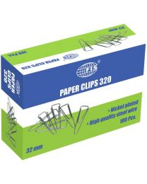Paper Clips Boat Shape, Pack of 100 Pcs, 32 mm Size