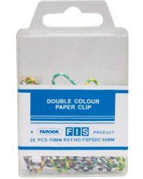 Paper Clips Pack of 20 Pcs, 50 mm Size