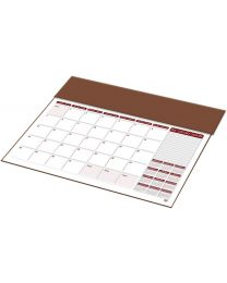 2019 Year Planner with PVC Desk Blotter (English / French)