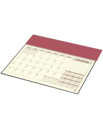 2019 Year Planner with PVC Desk Blotter and Italian PU Flap (Arabic / English)
