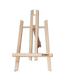 Artmate Wooden Easel Stand (Pine Wood) 30 cm Size