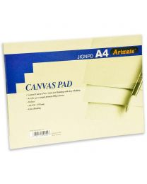 Artmate Canvas Pad 10 Sheets, A4 Size, 280gsm