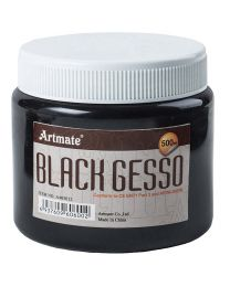 Artmate Painting Color, Black Gesso 500ml