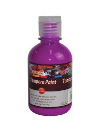 Artmate Tempera Fluorescent Purple Color, 250 ml