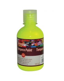 Artmate Tempera Fluorescent Lemon Yellow Color, 250 ml