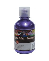 Artmate Tempera Pearl Violet Color, 250 ml