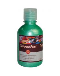 Artmate Tempera Pearl Apple Green Color, 250 ml