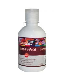 Artmate Tempera Poster White Color, 250ml