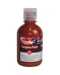 Artmate Tempera Poster Burnt Sienna Color, 250ml