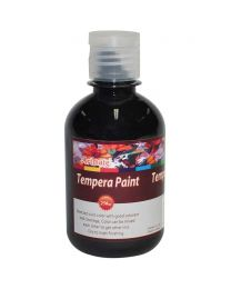 Artmate Tempera Poster Lamp Black Color, 250ml