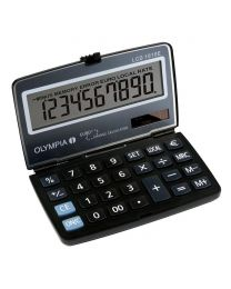 Olympia Pocket Calculator 10 Digits LCD-1010e, Steel Blue Color