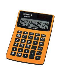 Olympia  Desktop Calculator LCD1000p, 12 Digits, Orange Color