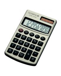 Olympia Pocket Caculator 10 Digits, Silver Color