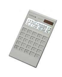 Olympia Desktop Calculator 12 Digits, LCD3112, White Color