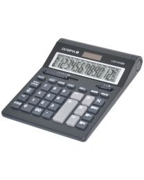 Olympia  Desktop Calculator LCD-612sd, 12 Digits, Black Color