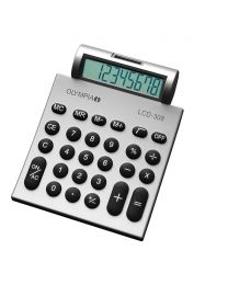 Olympia Desktop Calculator 8 Digits, Silver Color