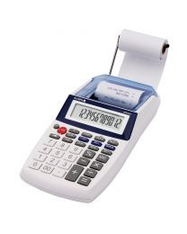 Olympia Printing Claculator 12 Digits, White Color