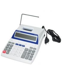 Olympia Printing Claculator 12 Digits Cpd445, White/Blue Color