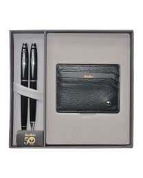 Scrikss Special Gift Sets Dr208 (Wallet + Ball Pen 1.0mm + Fountain Pen M)