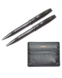 Scrikss Special Gift Sets Dr219 (Wallet + Ball Pen 1.0mm + Mechanical Pencil 0.7mm)