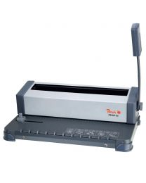 Peach Wire Binding Machine, A4 Size Binds 125 Pages Capacity (6m)
