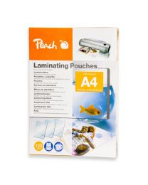 Peach Laminating Film A4 Size (Pack of 100 Pcs.) 125 Micron