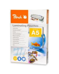Peach Laminating Film 154x216mm Size (Pack of 100 Pcs.) 125 Micron